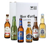 御中元 御祝 お返しに☆思いやりギフト 世界の ノンアルコールビール6本セット カリ / サグレスゼロ / エルディンガー / モレッツアクア / ビットブルガードライブ / エストレーリャガリシア0.0 ★ノンアル 輸入ビール 飲み比べ 詰め合わせ ビールギフト