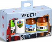 人気ベルギービール VEDETT/ヴェデット 3種類飲み比べ トライアルセット 専用グラス付き 【賞味期限:6月30日まで】海外ビール 輸入ビール
