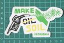 パタゴニア メイク ソイル ステッカー 海外版 Patagonia MAKE SOIL STICKER HEMP ヘンプ 大麻 オイル シール デカール ネコポス 新品 2