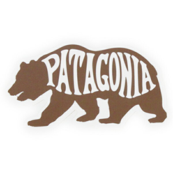 訳あり 廃番 パタゴニア ステッカー ベアヘブン PATAGONIA BEAR HEAVEN STICKER シール デカール クマ くま 熊 新品 ネコポス 同梱