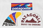 訳ありパタゴニアステッカー3種セットPATAGONIASTICKERSSETスケッグセットボードショーツロゴジオロジャーズサーフシール新品