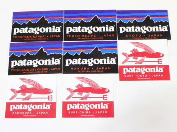 スポーツウェア・アクセサリー, その他  8 PATAGONIA FITZROY SHOP STICKERS SET
