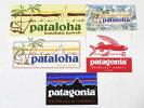訳ありパタゴニアステッカーホノルルハワイ5種セットPATAGONIAHONOLULUHAWAIISTICKERSSETPATALOHAパタロハシール非売品