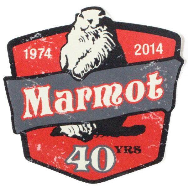 スポーツウェア・アクセサリー, その他  MARMOT 40TH ANNIVERSARY STICKER 1974 2014
