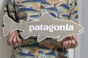 ワケアリ 激レア! パタゴニア 特大 トラウト ステッカー 茶系 PATAGONIA BIG TROUT STICKER 新品 ブラウン系 デカール シール 正規品 即納 訳有り