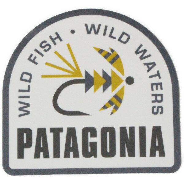 スポーツウェア・アクセサリー, その他  Patagonia STICKER WILD FISH