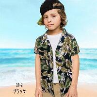 キッズアロハシャツ子供服男の子女の子ボーイズガールズ子ども服韓国子供服ジュニア90cm100cm110cm120cm130cm140cm150cm160cm「329-13」