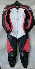 NEWモデル!SPEEDOFSOUND革ツナギレザースーツSOS-18ホワイトレッド選べる16サイズ!