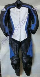 NEWモデル!SPEEDOFSOUND革ツナギレザースーツSOS-18ホワイトブルー選べる16サイズ!
