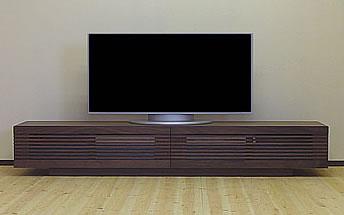 【完成品】【送料無料】テレビ台 テレビボード 完成品 テレビラック TVボード TV台 TVラック ウォールナット リビングボード ダークブラウン 北欧 シンプル AV収納