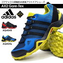 アディダス 防水アウトドアシューズ AX2 GTX AQ4045 AQ4046 ローカット トレッキング ゴアテックス メンズスニーカー adidas Gore-Tex