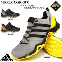 アディダス 防水トレッキングシューズ テレックス AX2R ゴアテックス アウトドア メンズスニーカー adidas TERREX AX2R GTX BB1987 BB1989