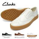 クラークス メンズ 靴 ウィングチップ ヒーローリミット 207J 本革 ドレスカジュアルシューズ キレカジ レザー Clarks Hero Limit