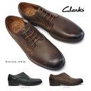 クラークス メンズカジュアルシューズ ブロックトンウォーク 621E プレーントゥ レザー 本革 レトロ Clarks Brocton Walk