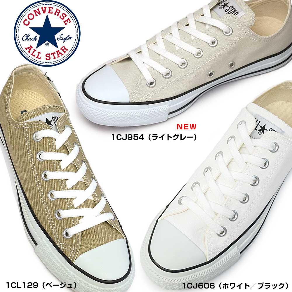 レディース靴, スニーカー  CONVERSE CANVAS ALL STAR COLORS OX 1CJ606 1CL129