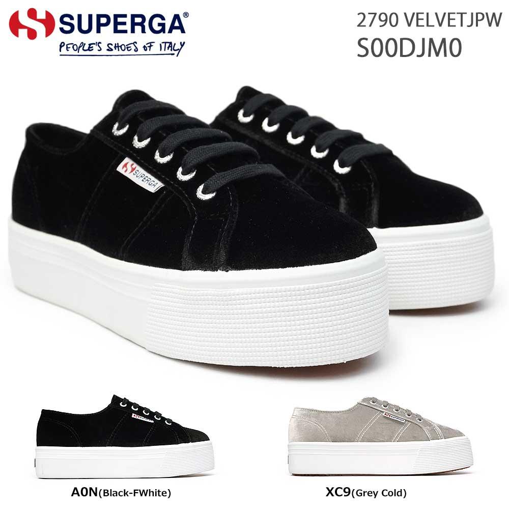 レディース靴, スニーカー  S00DJM0 2790 VELVETJPW SUPERGA A0N XC9