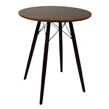 丸テーブル 木目 円形 ダイニングテーブル 単品 直径 60 cm イームズ リプロダクト 丸テーブル おしゃれ 木製 MDF DSW Φ60×高さ72cm テーブルGT725-木目