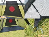 大型練習用ゴルフネット!W215/固定用ペグ付/携帯バック付/トレーニング用###ゴルフネットGN015☆###