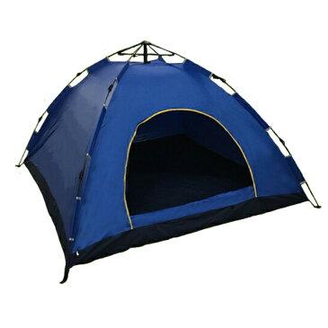 キャンプテント ワンタッチ テント ドームテント 蚊帳付 イージーテント 収納バック付 軽量 アウトドア キャンプ テントZDZP-D