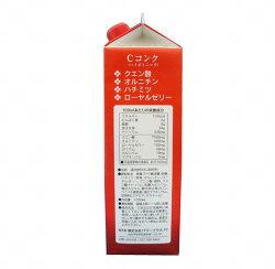 超回復:スポーツドリンク:クエン酸・オルニチン配合『Cコンク』1000ml×12本ハイポトニックスポーツ飲料