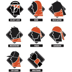 アウトドア:【BUFF】バフランニングマスクネックチューブREFLECTIVER-GLOWWAVESBLACK337399ネックウォーマーフリーサイズUPF50スキー/スノボ/オシャレ/カッコいい/タウン/日焼け/UVカット/ランニング/アウトドア/トレッキング/マスク/マスク素材