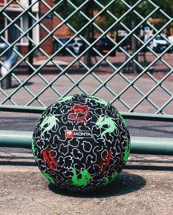 サッカー:モンタ ストリートサッカーボール 4.5号球 「MONTA」StreetMatch SHREDDER Nr.5210345101 ストリートマッチ/ドリブル/トリック/芸術/