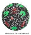 サッカー:モンタストリートサッカーボール4.5号球「MONTA」STREETMATCHNr.5210345101ストリートマッチ/ドリブル/トリック/芸術/
