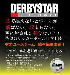 サッカー:ダービースターサッカーボールFIFA公認球「DERBYSTAR」5号球BRILLANT_APS_EREDIVISIE
