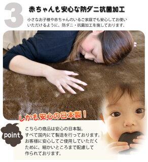 人気の秘密:赤ちゃんにも安心な防ダニ抗菌加工