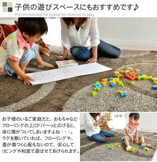 フローリングの床の傷つけ防止!子供の遊びスペースにもおすすめです!