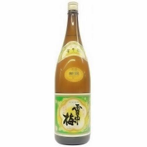 【全国送料無料クール便】雪中梅 普通酒 1800ml【RPC】【YOUNG zone】