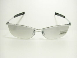 UVカットレンズ(紫外線防止)OEM用(ネーム・ロゴ入れ用)アイウェアー・ちょい悪オヤジ系メタルフレームリームレス(3309GYHMR)