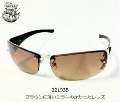 ハードクロスチャームハードロックバイクサングラスメンズサングラス221933カラークリアミラースモークハーフミラーブラウンミラー