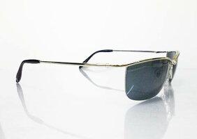 【MEN'S(メンズ男性用)】OEM(ネーム入れ)用・UVカット・紫外線防止レンズちょい悪、兄貴メタルフレーム系サングラス(2012-1)