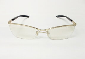 【MEN'S(メンズ男性用)】OEM(ネーム入れ)用・UVカット・紫外線防止レンズちょい悪、兄貴メタルフレーム系サングラス(2002-9)