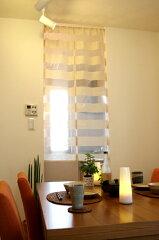 ほどよく透け感のあるシンプルなデザインが魅力ノーブル【巾85cm】【あす楽対応_】【メール便A4...