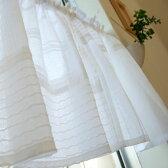【メール便送料無料】パッチワークカフェカーテンS:オフ【120cm幅×45cm丈】