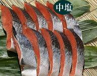 本造り鮭(10切)中塩【新潟たけうち】