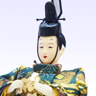 【送料無料】雛人形ひな人形金彩蒔絵特上金襴刺繍人形桐ケース飾り