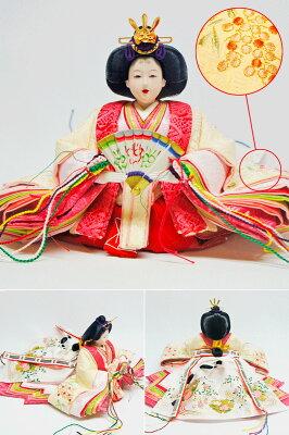 雛人形ひな人形親王ケース飾り【雅】2015