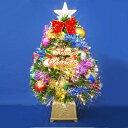 クリスマスツリー 60cmグリーンファイバーツリーセット12