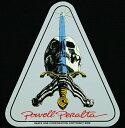 Powell Peralta Skateboards ステッカー シール パウエル・ペラルタ Skull & Sword Sticker スケボー SKATE SK8 スケートボード HARD CORE PUNK ハードコア パンク HIPHOP ヒップホップ SURF サーフ レゲエ reggae スノボー スノーボード Snowboard NINJA X 05P26Mar16