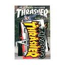 Thrasher Magazine(US企画)10種ワンセット ステッカー シール スラッシャー マガジン Sticker 10 Pack スケボー SKATE SK8 スケートボード HARD CORE PUNK ハードコア パンク HIPHOP ヒップホップ SURF サーフ レゲエ reggae スノボー スノーボード Snowboard NINJA X