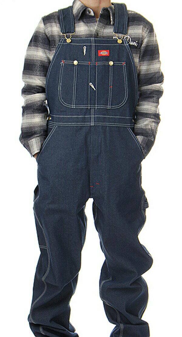 メンズファッション, オーバーオール Dickies Indigo Bib Overall Blue Denim SKATE SK8 HARD CORE PUNK HIPHOP SURF reggae Snowboard NINJA X