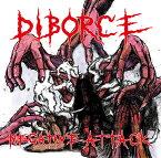 DIBORCE NEGATIVE ATTACK 1ST CD フルアルバム Bloodbath Records グラインドコア(GRIND Osaka、HARD CORE PUNK、CRUST、POWER VIOLENCE)ARTIST music