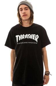 Thrasher Magazine Tシャツ 半袖 スラッシャー マガジン Mag Logo T-Shirt Black スケボー SKATE SK8 スケートボード HARD CORE PUNK ハードコア パンク HIPHOP ヒップホップ SURF サーフ レゲエ reggae スノボー スノーボード Snowboard NINJA X
