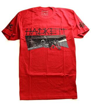 H-Street Skateboards(エイチストリート)Tシャツ Dave Hackett Slash T-Shirt Red スケボー SKATE SK8 スケートボード HARD CORE PUNK ハードコア パンク HIPHOP ヒップホップ SURF サーフ レゲエ reggae スノボー スノーボード Snowboard NINJA X