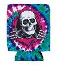 Powell Peralta (パウエル・ペラルタ) 缶クージー ボトルホルダー アウトドア 保冷 Ripper Tie-Dye Koozie Purple スケボー SKATE SK8 スケートボード HARD CORE PUNK ハードコア パンク HIPHOP ヒップホップ SURF サーフ レゲエ reggae スノボー スノーボード