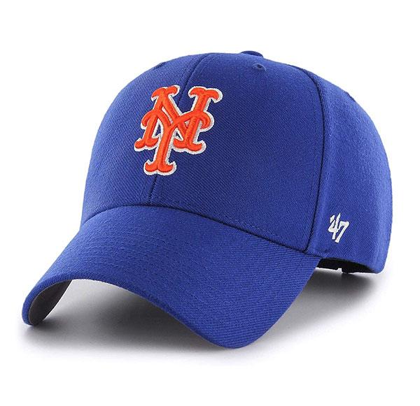 メンズ帽子, キャップ 47 () FORTYSEVEN () Mets 47 MVP Royal MLB