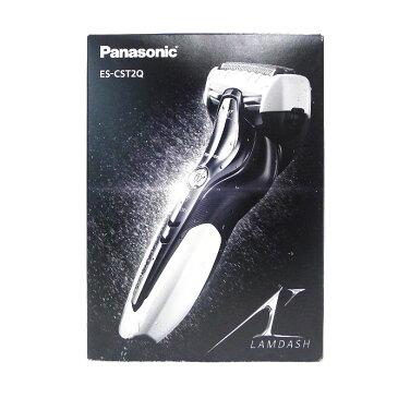 【Panasonic】パナソニック メンズシェーバー ラムダッシュ 3枚刃 ES-CST2Q(白) メンズ 理美容家電【中古】Nランク
